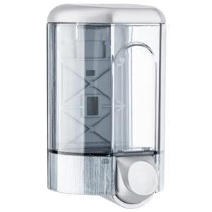 563sat dispenser sapone riempimento a parete 110 ml satinato marplast