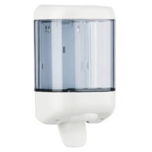 616 dispenser sapone riempimento 1 l leva bianco trasparente marplast