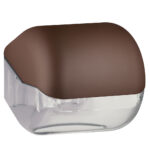 619ma dispenser carta igienica foglietti rotolo marrone colored marplast