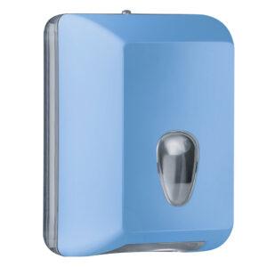 622az dispenser carta igienica foglietti intercalati azzurro colored marplast