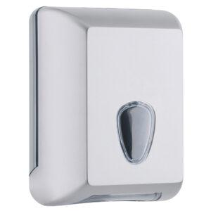 622sat dispenser carta igienica interfogliata satinato marplast