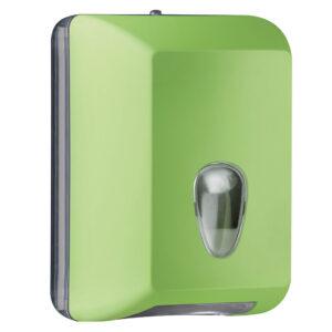 622ve dispenser carta igienica foglietti intercalati verde colored marplast
