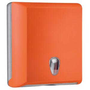 706ar dispenser carta asciugamani carta interfogliati z arancione colored marplast