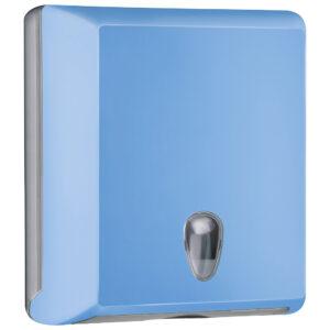 706az dispenser carta asciugamani carta interfogliati z azzurro colored marplast