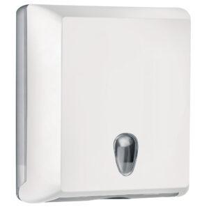 706bi dispenser carta asciugamani carta interfogliati z bianco colored marplast