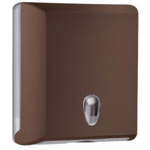 706ma dispenser carta asciugamani carta interfogliati z marrone colored marplast