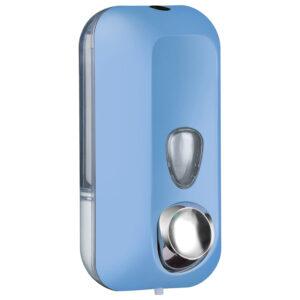 714az dispenser sapone riempimento 055 l azzurro colored marplast