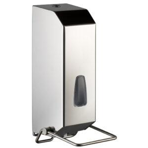 736lu dispenser sapone gel riempimento 1200 ml acciaio inox lucido marplast