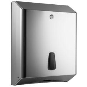 802lucido dispenser carta igienica intercalata z c acciaio inox lucido marplast
