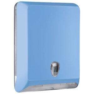 830az dispenser carta asciugamani v c z azzurro colored marplast