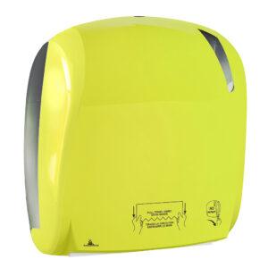 884flou dispenser carta asciugamani automatico nero carbon antibacterial fluo marplast