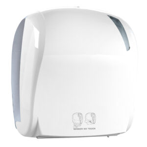 885 dispenser carta asciugamani elettronico bianco skin marplast