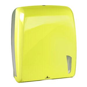 901flou dispenser carta asciugamani intercalata antibacterial fluo marplast