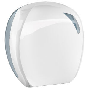 908 dispenser carta igienica maxi jumbo bianco skin marplast