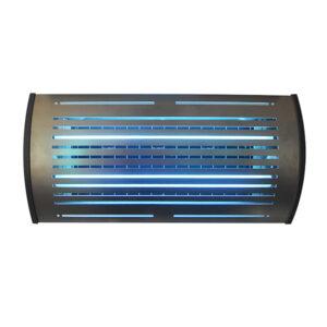 SA855016 lampada cattura insetti halo curve con 6 piastre collanti