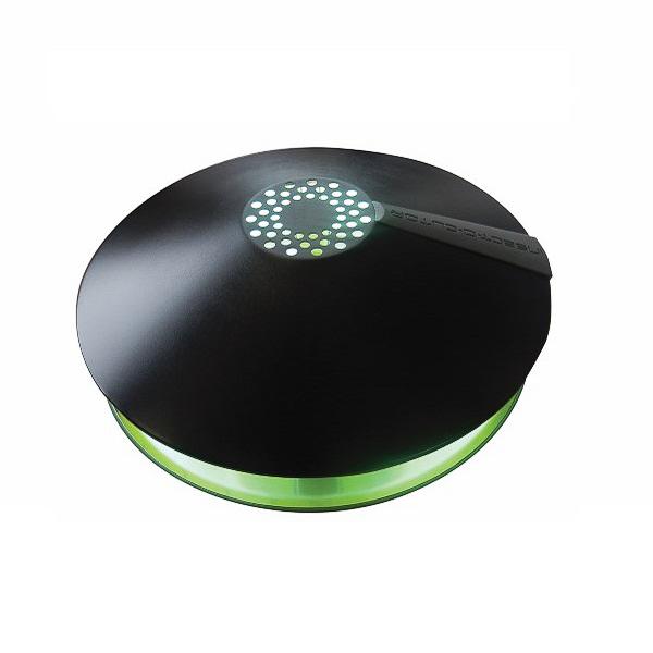SA855020N aura lampada cattura insetti professionale haccp piastra collante feromone nero